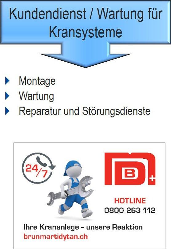 Kundendienst Service